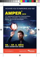 Flyer of AMPER 2015